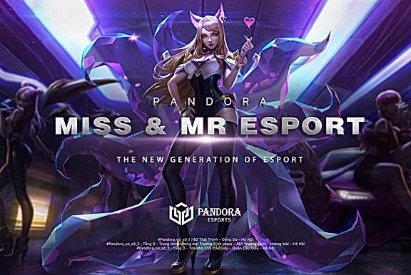 Miss & Mr Esport 2020 – Chính thức khởi động cuộc tìm kiếm tài năng trẻ, Tổng tiền thưởng 150 triệu
