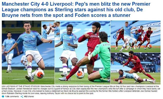 Daily Mail chỉ trích các cầu thủ Liverpool với màn trình diễn thảm họa |JP88