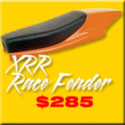 XRR MOTORCYCLE FENDER