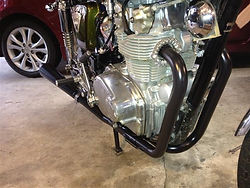 CB500 EXHAUST PIPES, CB500 EXHAUST