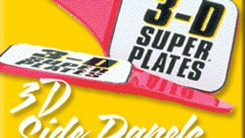 DIRT TRACK 3D SIDE PANELS (PAIR)