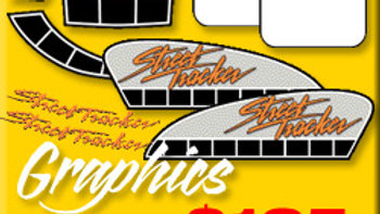 STREET TRACKER GRAPHICS PACKAGE 9 PIECE