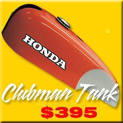 HONDA CB450 GAS TANK, CLUBMAN TANK