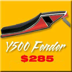 Y500 MOTORCYCLE FENDER