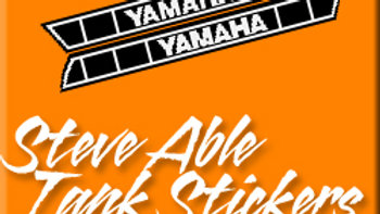 STEVE ABLE TANK STICKERS