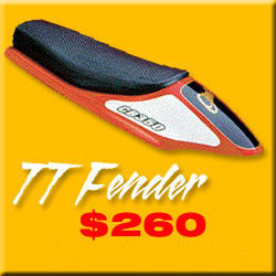 TT MOTORCYCLE FENDER