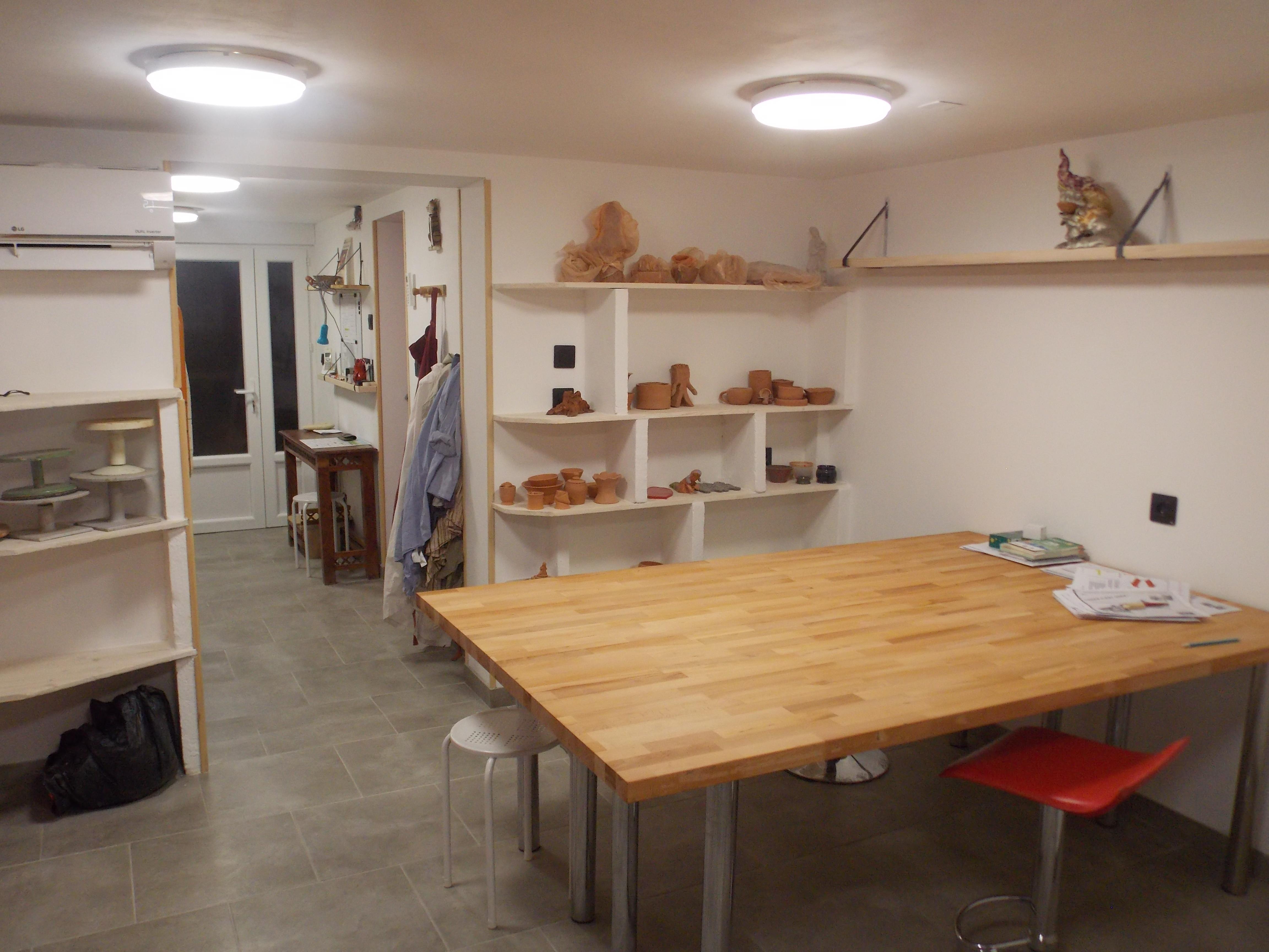 Atelier poterie de véronique