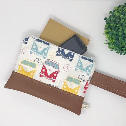 VW Bus | Mini Wristlet