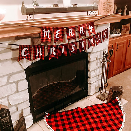Christmas Combo - Tree Skirt/Banner