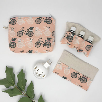 Essential Oils Set - Bikes in Pink