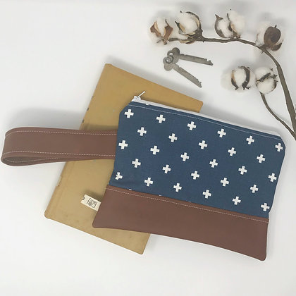 Swiss Cross | Mini Wristlet