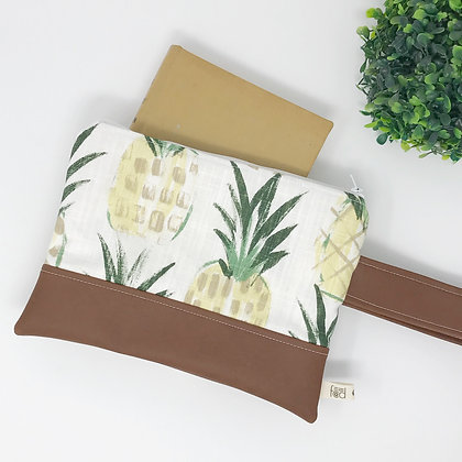 Pineapple | Mini Wristlet