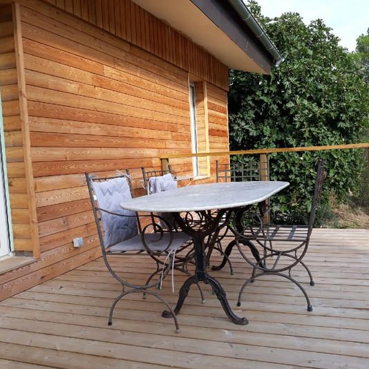 terrasse bois - sud maisons bois