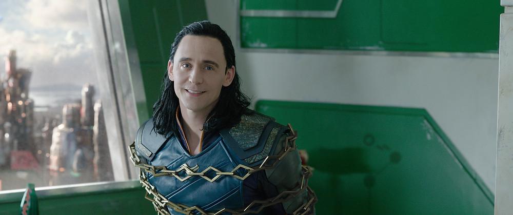 Loki Odinson tied up