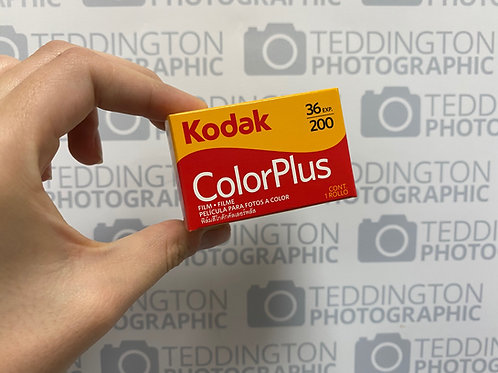 Kodak ColorPlus 200 35mm colour negative film