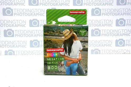 Lomography Colour 120 Film asa 800 Triple Pack