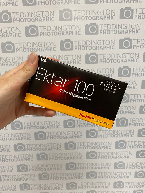 Kodak Ektar 100 120mm colour negative film. EXPIRED 11/19. Price per roll