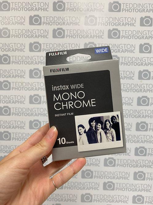 Fujifilm Instax Wide Monochrome 10 shots Expiry 09/19