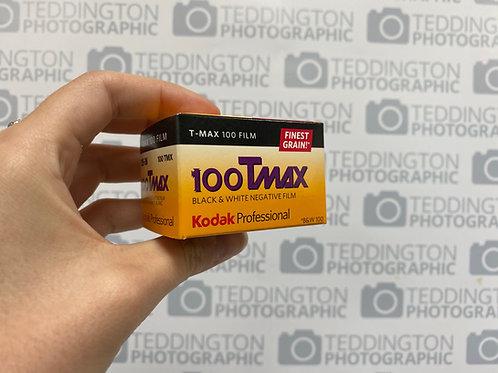 Kodak 100 TMAX 135 - 36 Black and White Film