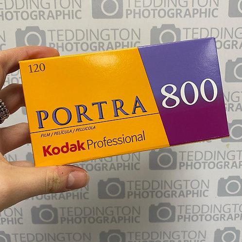 Kodak Portra 800 - 120mm - Price Per Roll