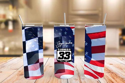 Checkered Flag America - 20oz. Skinny Tumblers