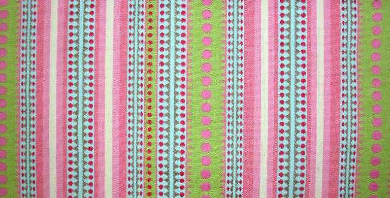 Candy Stripe Multicolored Fabric