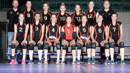 Volleybal Vereniging Utrecht DS1 zegt koppositie gedag (voor nu)