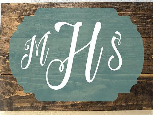 Large initials