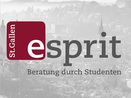 ESPRIT St. Gallen blickt auf ein erfolgreiches Semester zurück.