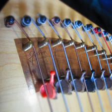 Jack Yule harp clarsach