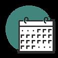 Calendário Encontros