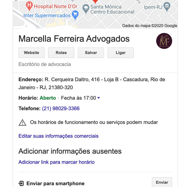 Ficha Google Business