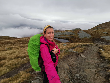 Diary of a hiker in training, starting with Scotland