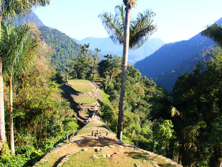 Diary of a hiker in training;  travel to a Colombian Lost City