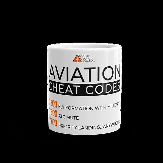 Aviation Cheat Codes Mug