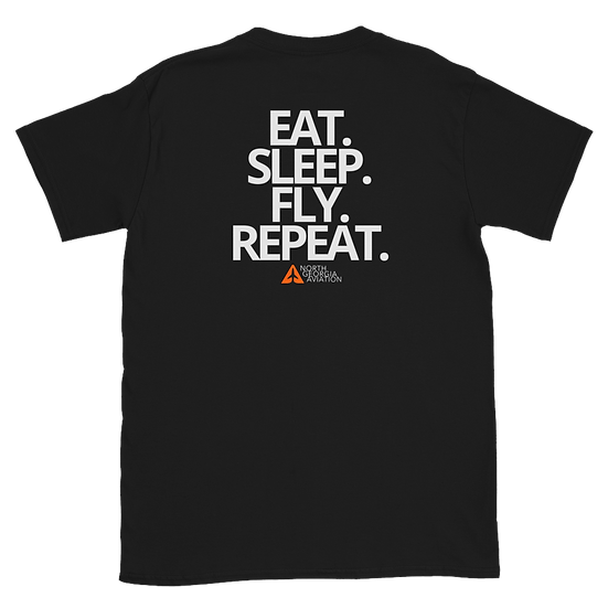 Eat. Sleep. Fly. Repeat. (Staff)