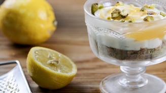 British Gas - Lemon Pistachio Cheesecake