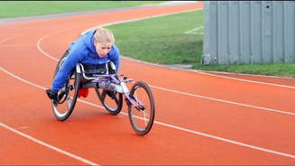 Don't Quit Do It - Wheelchair Racing