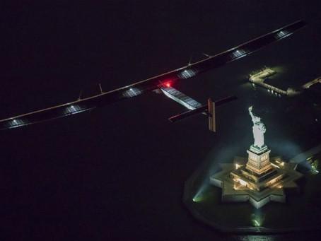 Avião movido a energia solar vai dar a volta ao mundo