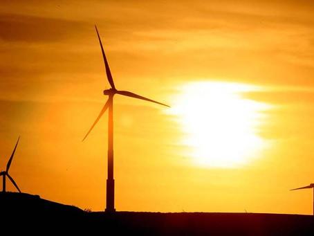 Produção de energia eólica cresce 25% em 2017