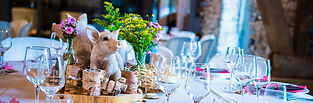 Mariage contes de fée table 3 petits cochons par Your Big Day .be