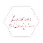 Locations & Candy bars mariage