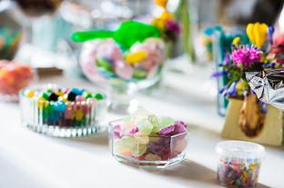 Décoration de candy bar et sweet tables