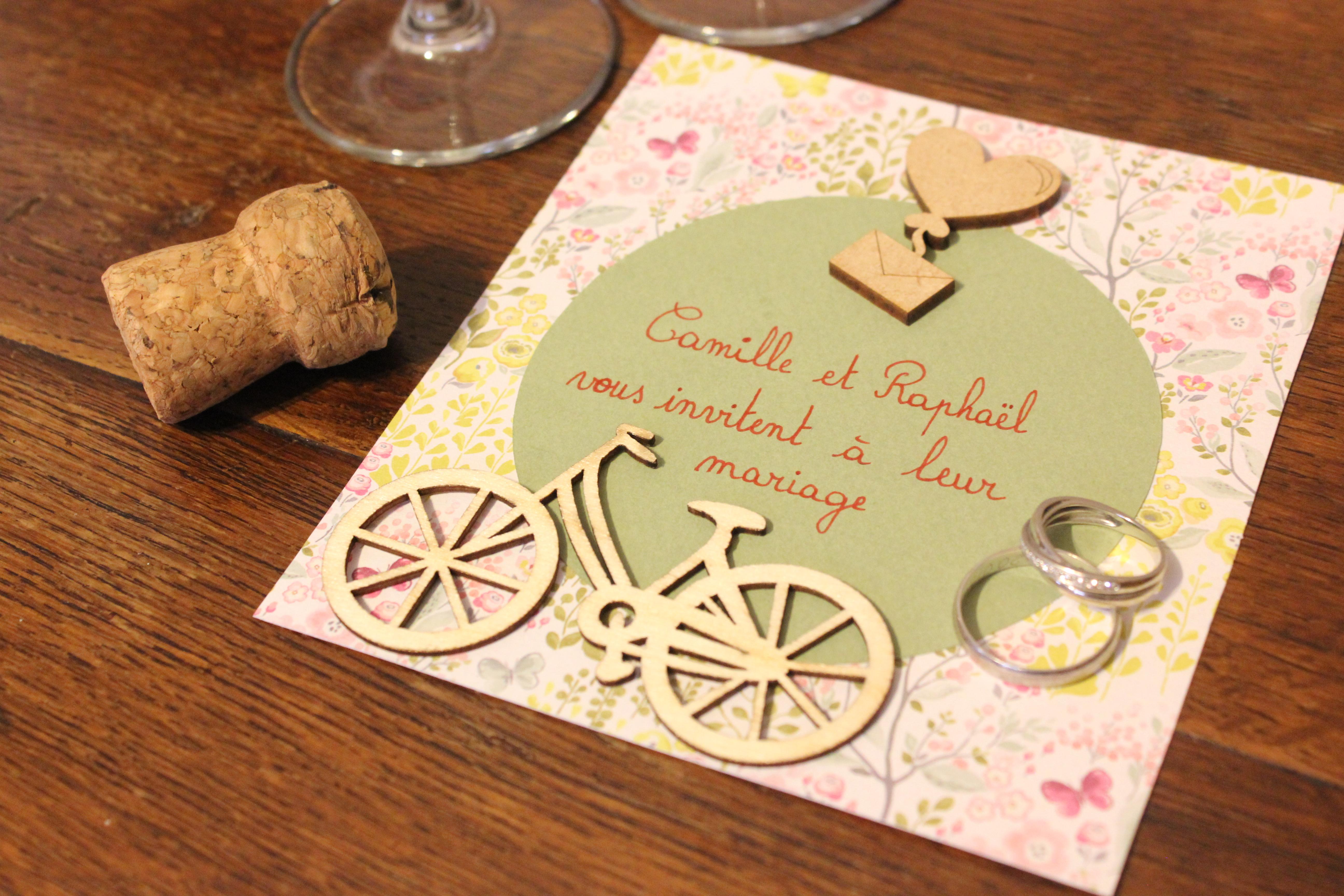 Faire-part & invitations de mariage