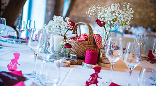 Mariage conte de fée Table petit chaperon rouge par Your Big Day .be