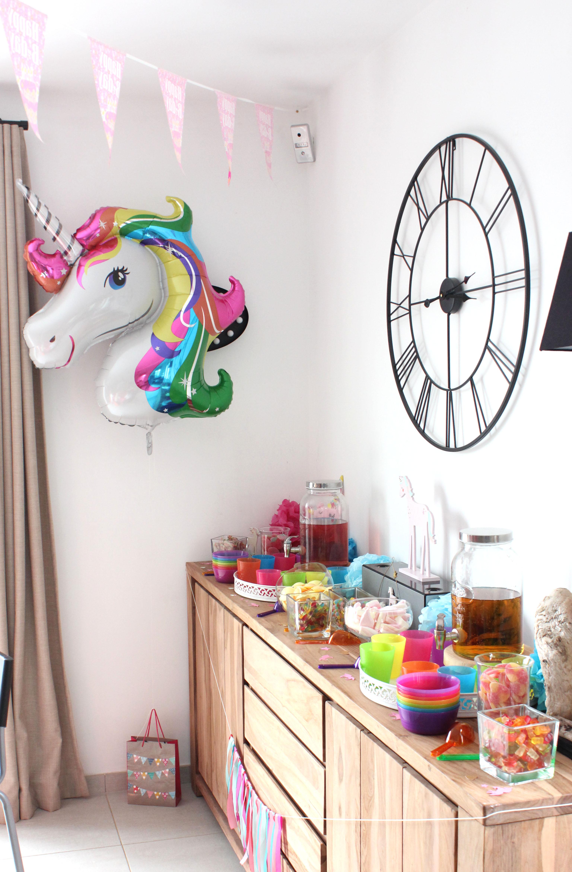 Candy Bar Licorne pour Elena
