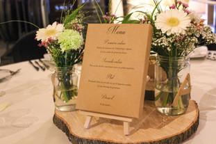 Décoration de table et création de menus