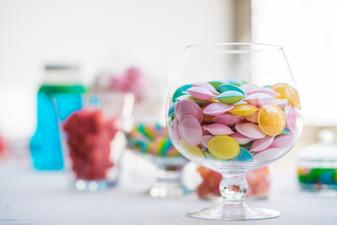 Décoration de candy bar
