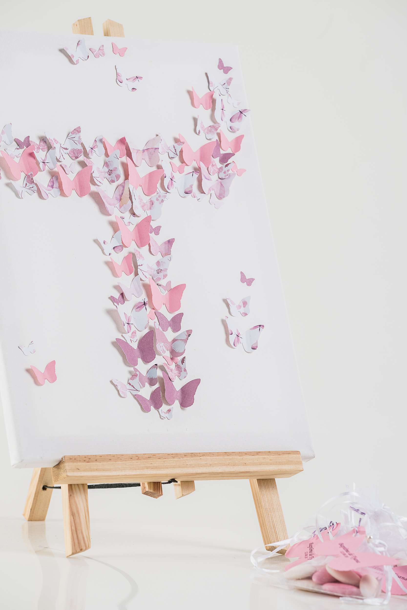 Toile papillons