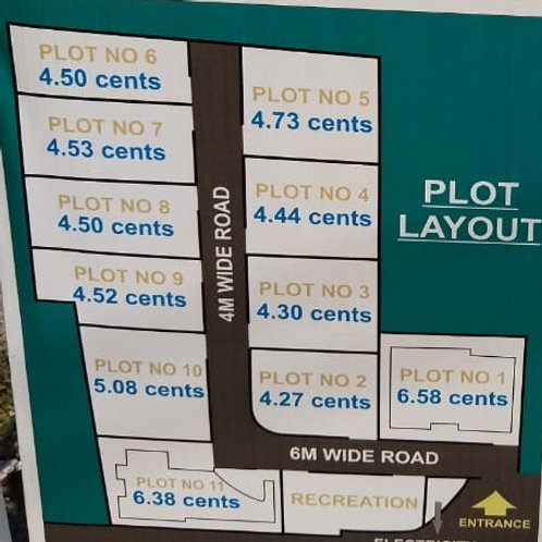 10 plot for sale at Thuthiyoor